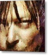 Detail Of Daryl Dixon  Metal Print