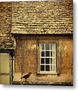 Detail Of Old House Metal Print