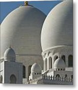 Detail Of The Domed Roof Of The Sheikh Metal Print