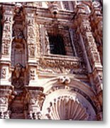 Detail Of The National Cathedral Of Guatemala Metal Print