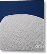 Detail Of Tiles On Sydney Opera House Metal Print