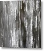 Detail Of Waterfall In Park Sonsbeek In Arnhem Netherlands Metal Print