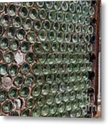 Detailed View Of Bottle House At Calico California Metal Print