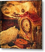 Antique Details Metal Print by Maria Angelica Maira