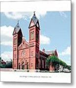 Detroit - Sheridan Avenue - St Anthony Catholic Church - 1910 Metal Print