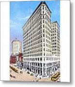 Detroit - The Lafayette Building - Michigan Avenue Lafayette And Shelby Streets - 1924 Metal Print