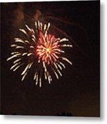 Detroit Area Fireworks -1 Metal Print
