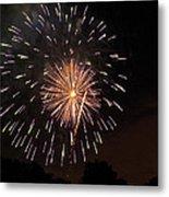 Detroit Area Fireworks -10 Metal Print