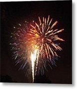 Detroit Area Fireworks -2 Metal Print