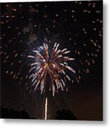 Detroit Area Fireworks -5 Metal Print