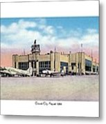 Detroit - City Airport - 1944 Metal Print