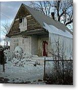 Detroit Ice House Metal Print