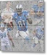 Detroit Lions Team Metal Print
