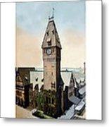 Detroit - Michigan Central Railroad Depot - Jefferson Avenue - 1900 Metal Print