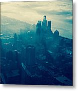 Detroit Morning Metal Print