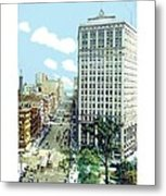 Detroit - The David Whitney Building - Woodward Avenue - 1918 Metal Print