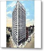 Detroit - The Kresge Building - West Adams Street - 1918 Metal Print