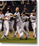 Detroit Tigers v Minnesota Twins Metal Print