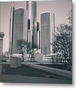 Detroit2 Metal Print
