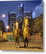 Detroit's Finest Detroit Mi Metal Print