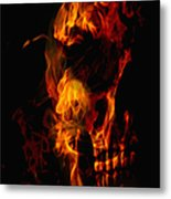 Devil Within Metal Print