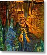 Devils Cavern Bari Greece Metal Print