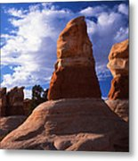 Devil's Garden Evening Metal Print by Ray Mathis