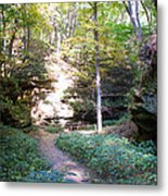 Devil's Punch Bowl Wildcat Den Metal Print
