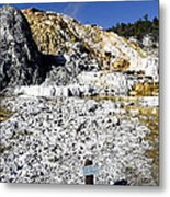 Devils Thumb - Yellowstone Metal Print