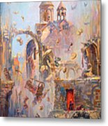 Devoted To The Saint Memory Of The Victims Of Armenian Genocide Metal Print