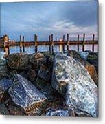 Dewey Beach Delaware Metal Print