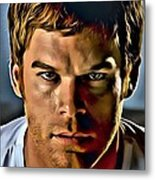 Dexter Portrait Metal Print