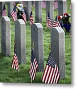Dfw National Cemetery Metal Print