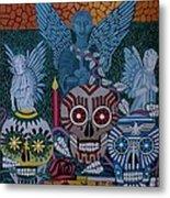 Dia De Los Muertos Metal Print by Anthony Morris