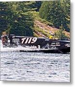 Diablo 3 Speedboat Metal Print
