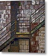 Diagonal Stairs Metal Print by Murray Bloom