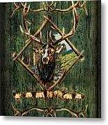 Diamond Elk Metal Print