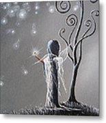 Diamond Fairy By Shawna Erback Metal Print by Shawna Erback