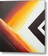Diamond Fire 1 Metal Print