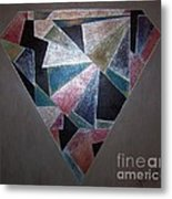 Diamond In The Mud Metal Print