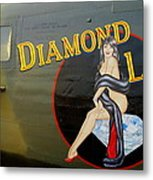 Diamond Lil B-24 Bomber Metal Print