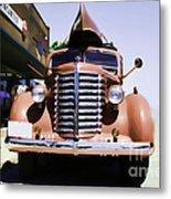 Diamond T Truck - Sahara Metal Print