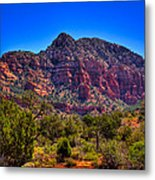 Diamondback Gulch Near Sedona Arizona Viii Metal Print
