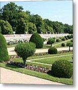 Diane De Poitiers' Gardens Metal Print