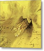Diary Of A Buttercup Soft Metal Print