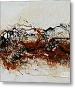 Die Trying1 - Abstract Art Metal Print by Ismeta Gruenwald