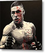 Diego Sanchez - War Metal Print