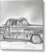 Diehard Dodge Metal Print