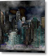 Differentiate New York City Metal Print