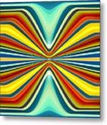 Digital Art Pattern 8 Metal Print by Amy Vangsgard